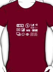 Camera Display  T-Shirt