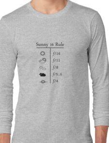 Sunny 16 Rule Long Sleeve T-Shirt
