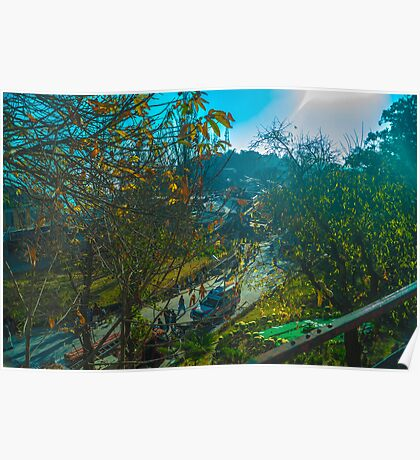 Scenic view of Murree Poster