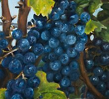 Ontario Grapes by Andrea Vreken