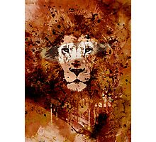 WATERCOLOR KING Photographic Print