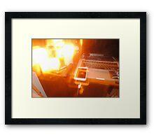 Desk Framed Print