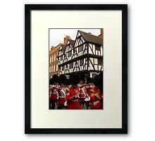 Grenadier Guards Lincoln Framed Print