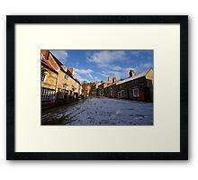 Steep Hill Framed Print