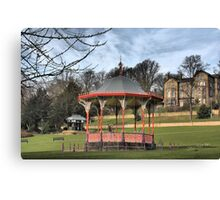 Arboretum Bandstand, Lincoln HDR Canvas Print