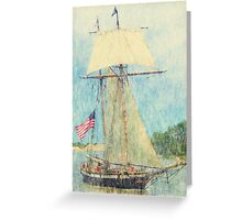 Lynx - Parade of Sails Greeting Card
