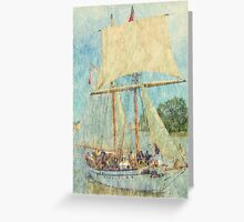 STV Pathfinder - Parade of Sails Greeting Card