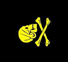 Smartphone Case - Pirate Flag (24) by Mark Podger