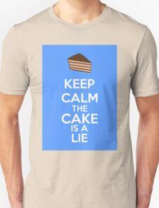 Keep Calm The Cake Is A Lie T-Shirt