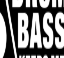 Drum Bass Sticker