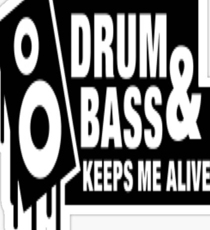 Drum Bass Sticker