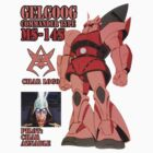 Mobile Suit Gundam MS-14S Char Aznable by benyuenkk