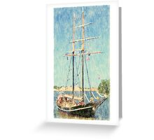 Unicorn - Parade of Sails Greeting Card