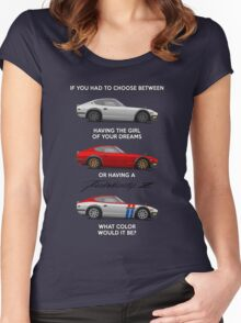 If you had to choose Women's Fitted Scoop T-Shirt