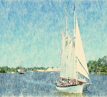 Appledore IV - Parade of Sails by Francis LaLonde