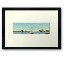 S/V Denis Sullivan - Parade of Sails Framed Print
