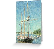 S/V Denis Sullivan - Parade of Sails Greeting Card
