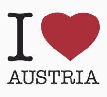 I ♥ AUSTRIA Kids Clothes
