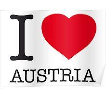 I ♥ AUSTRIA Poster