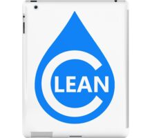 Clean iPad Case/Skin