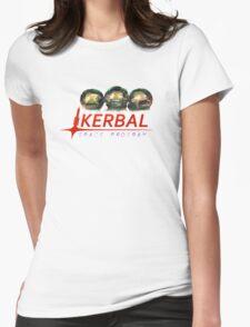 Kerbal Space Program Art Womens Fitted T-Shirt