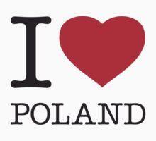I ♥ POLAND Kids Clothes