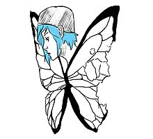 Chloe Price ButterFly Photographic Print