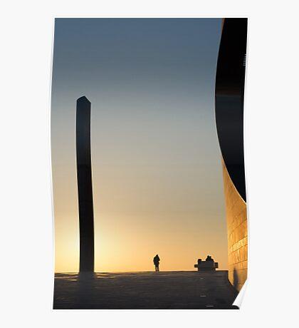 Lisbon, crepuscule Poster