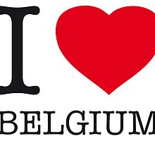 I ♥ BELGIUM by eyesblau