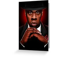 """AMERICAN GANGSTER"" Greeting Card"