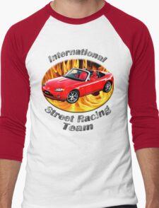 Mazda MX-5 Miata Street Racing Team Men's Baseball ¾ T-Shirt