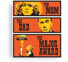 The Mom, The Dad, And The Major Award Canvas Print