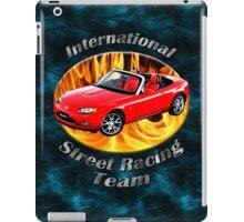 Mazda MX-5 Miata Street Racing Team iPad Case/Skin