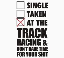 At the track racing by SingleTaken