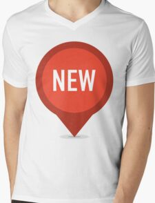 NEW Mens V-Neck T-Shirt