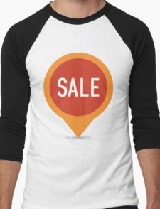 SALE Men's Baseball ¾ T-Shirt