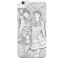Two Elves For Christmas iPhone Case/Skin