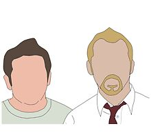 Shaun Of The Dead Faceless by Jordan Turner