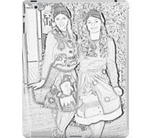 Two Elves For Christmas iPad Case/Skin