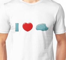 I (heart) Brains Unisex T-Shirt