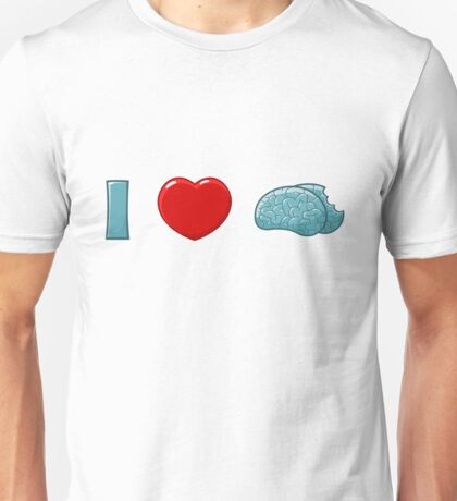 I (heart) Brains Unisex T-Shirt
