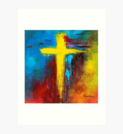Cross 2 Art Print