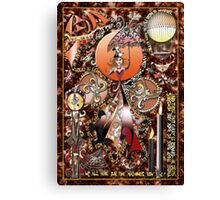 Steampunk Dada Doll Canvas Print