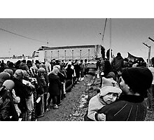 Waiting in Line Photographic Print