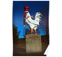 You Big Chicken Poster