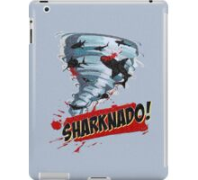 Sharknado - Sharks in Tornadoes - Shark Attack - Shark Tornado Horror Movie Parody iPad Case/Skin