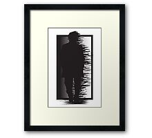 Still walking Framed Print