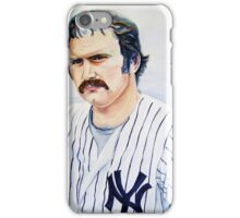 thurman munson iPhone Case/Skin