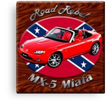 Mazda MX-5 Miata Road Rebel Canvas Print