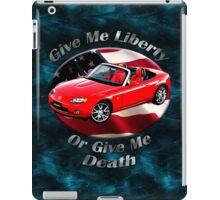 Mazda MX-5 Miata Give Me Liberty iPad Case/Skin